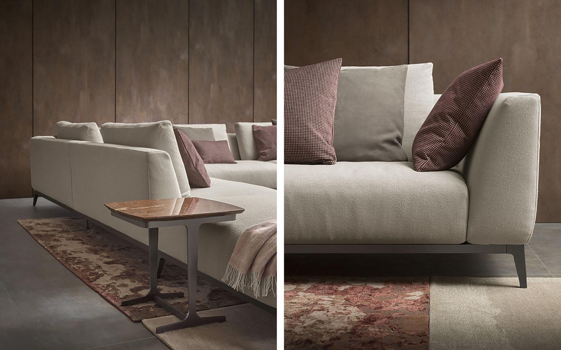 Portico sofa portico sofa from c b available in 78 width for Al portico arredamenti