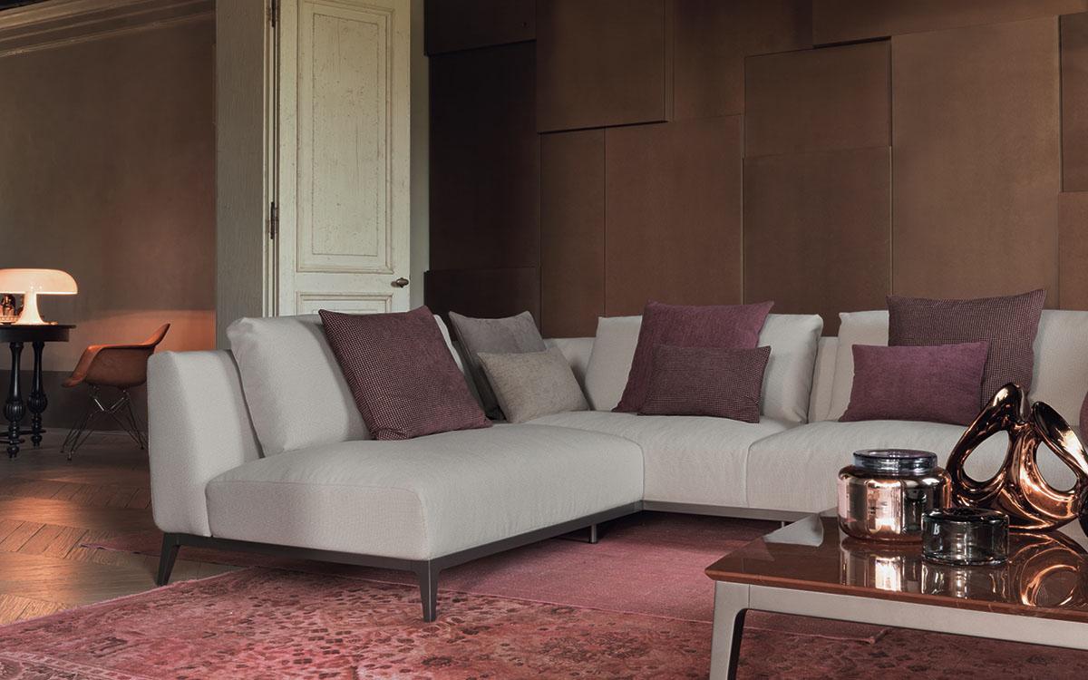 Flou divano oliver al portico arredamenti for Al portico arredamenti